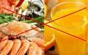 Uống nước cam kiểu này coi chừng rước độc tố vào người