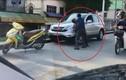 Video: Hai tài xế đánh nhau sau va chạm giao thông