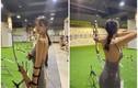 Tập bắn cung, hot girl xứ Trung gây thương nhớ cho fan