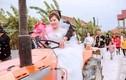 Đám cưới rước dâu bằng máy cày ở xứ Nghệ gây sốt