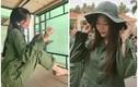 Đi học quân sự, nữ sinh Sài thành không làm ai thất vọng