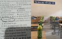 """Đu trend """"trà xanh"""", học sinh khiến ai đọc cũng phải cười"""