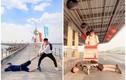"""""""Nắm chân đi khắp thế gian"""", trend chụp ảnh mới siêu chất"""
