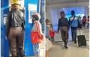 Diện quần xuyên thấu nơi công cộng, cô gái gây phẫn nộ