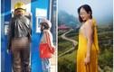 Lộ danh tính người phụ nữ mặc quần xuyên thấu gây phản cảm