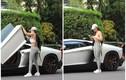 Rich kid gây mê qua khoảnh khắc chụp lén bên siêu xe Lamborghini
