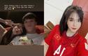 Bạn gái cầu thủ đội tuyển Việt Nam được khen hết lời vì nhan sắc
