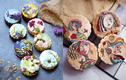 Biến bánh Trung thu thành tranh, cô gái 9x khiến netizen trầm trồ