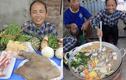 Bà Tân vlog làm món mới, miếng thịt màu đen khiến netizen tò mò