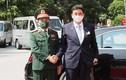 Đại tướng Phan Văn Giang hội đàm với bộ trưởng Quốc phòng Nhật Bản