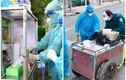 Xe bán hàng rong bị trưng dụng để xét nghiệm lưu động cực độc