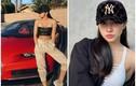 """Hot girl sở hữu siêu xe 20 tỉ khoe nhan sắc chuẩn """"nữ thần"""""""