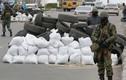 """Lực lượng vũ trang """"lạ"""" lập chốt chặn ở Sloviansk, Ukraine"""