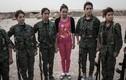 Vẻ đẹp nữ chiến binh người Kurd chống lại phiến quân IS
