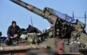 Pháo thủ Ukraine ngoài tiền tuyến ác liệt