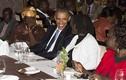 Chùm ảnh Tổng thống Obama rạng rỡ với họ hàng bên nội
