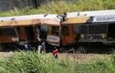 Hiện trường 2 tàu hỏa đâm đầu vào nhau, 245 người bị thương