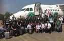 Hình ảnh đội bóng Brazil trước chuyến bay xấu số
