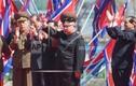 Ảnh: Ông Kim Jong-un cười tươi trong lễ khánh thành khu phố mới
