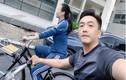 Sao Việt pose dáng nóng bỏng cùng xe đạp, bộ môn rèn sức khỏe yêu thích