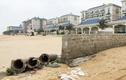 Lan Rừng Resort lấn biển, xây tường ngăn bãi tắm: Cán bộ huyện nói gì?