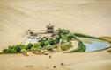Kỳ lạ hồ nước mặt trăng nằm giữa sa mạc, 2000 năm không cạn