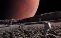 Cực sốt Mặt trăng của sao Hỏa có dấu vết sự sống ngoài hành tinh?
