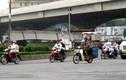 Rơi thanh dầm cầu vượt Nguyễn Chí Thanh - Kim Mã