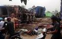 Tai nạn tàu hỏa kinh hoàng, tài xế container thoát chết gang tấc