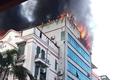 Chung cư mini House Xinh Group cháy dữ dội, cư dân hoảng loạn