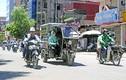 Hình ảnh xe ba bánh cồng kềnh như này sắp biến mất ở Hà Nội