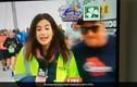 Phóng viên Mỹ bị sàm sỡ khi đang dẫn truyền hình trực tiếp