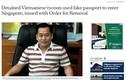 'Ông Phan Văn Anh Vũ đã bị Interpol phát lệnh truy nã đỏ'