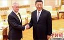 Chủ tịch Trung Quốc Tập Cận Bình tiếp Bộ trưởng Quốc phòng Mỹ