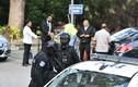 An ninh siết chặt bên ngoài tòa tuyên án Đoàn Thị Hương