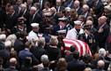 Cận cảnh các chính trị gia Mỹ trong lễ tang TNS John McCain