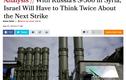 """Truyền thông Israel cảnh báo """"ác mộng"""" tên lửa S-300 tại Syria"""
