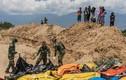 Số người chết do thảm họa kép ở Indonesia tăng lên 1.424 người