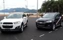 Soi tính năng mới Chevrolet Captiva 2014 tại VN