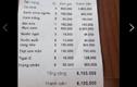 Hóa đơn tính tiền hơn 6 triệu bị tố chặt chém khách du lịch