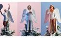 Trang trí cây thông Noel bằng sản phẩm 3D in hình người nổi tiếng