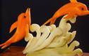 """Video: Cắt tỉa cà rốt hình cá heo đẹp """"thần thánh"""""""