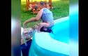 """Video: Gặp tai nạn """"dở khóc dở cười"""" nơi bể bơi"""