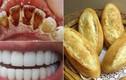 Dùng 1 chiếc bánh mỳ cao răng bao nhiêu cũng bong sạch