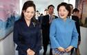 Đệ nhất phu nhân Triều Tiên gây ấn tượng khi lần đầu làm chủ nhà đón khách