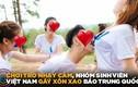 Video: Sinh viên Việt chơi trò nhạy cảm gây xôn xao hot nhất tuần