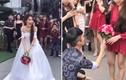 Video: Cô dâu giúp chàng trai cầu hôn bất ngờ trong đám cưới gây sốt