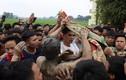 Video: Hàng trăm trai tráng giẫm đạp cướp bông để cầu sinh quý tử