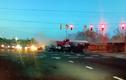 """Video: Container mất lái đâm xe buýt, nhiều ôtô khác """"vạ lây"""""""