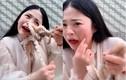 Livestream ăn bạch tuộc sống, cô gái bất ngờ bị bạch tuộc ăn lại